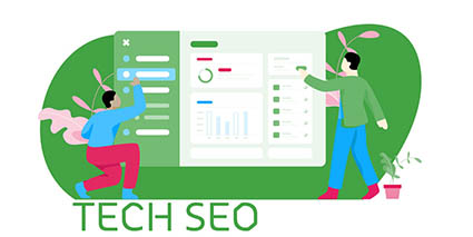 SEO interview questions - technical seo header image