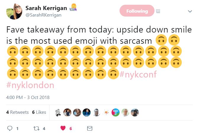 Sarah Kerrigan tweet