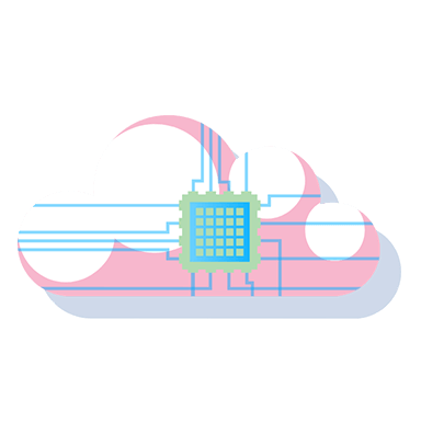Hybrid types of cloud computing