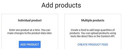 Add a product to Google Merchant Centre